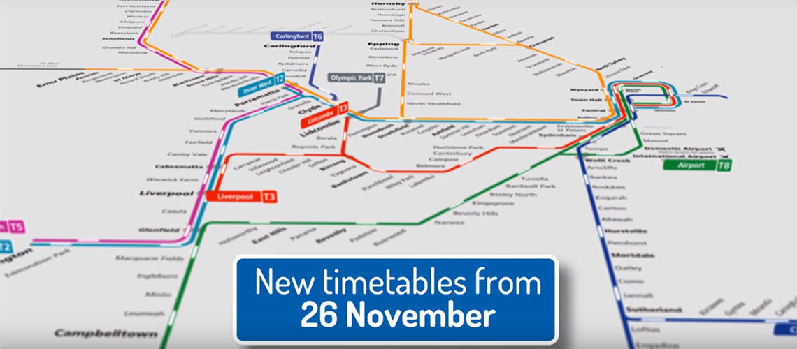 Changes To Nsw Public Transport Timetables The Nrma