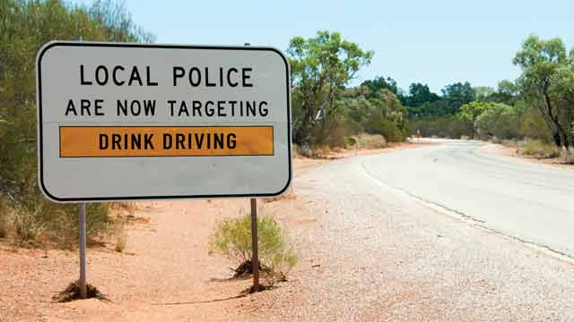 Local police target drink driving