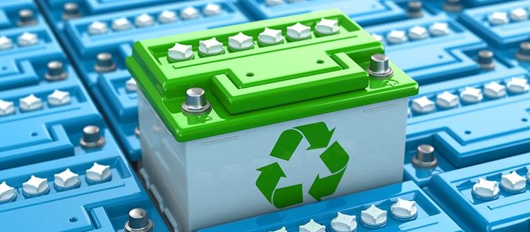 car battery recycling