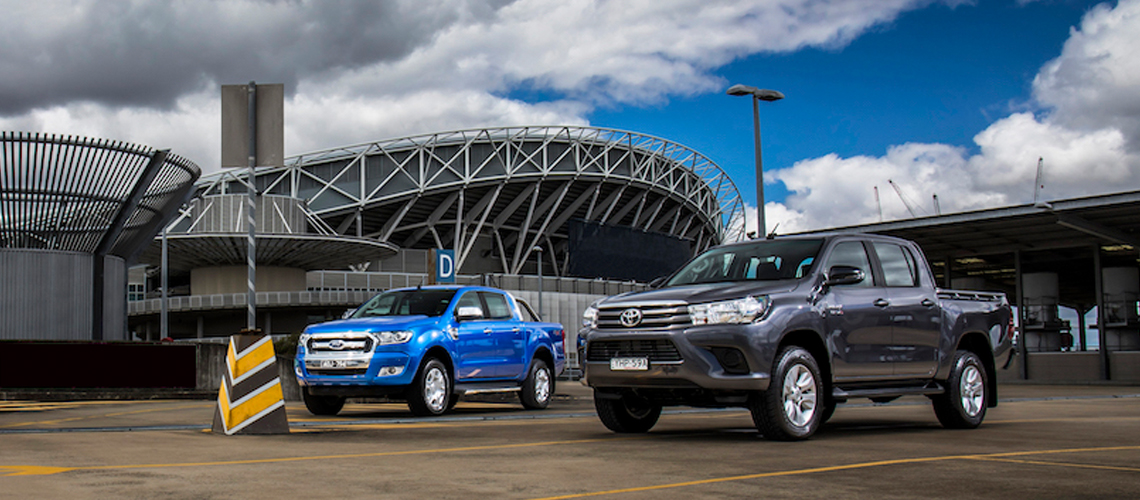Toyota HiLux and Ford Ranger