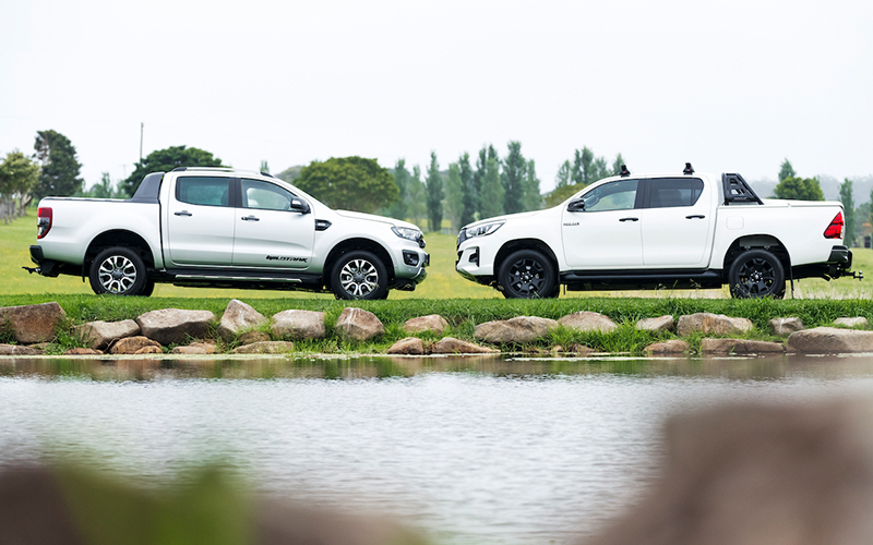 Toyota HiLux Rogue Vs Ford Ranger Wildtrak 1