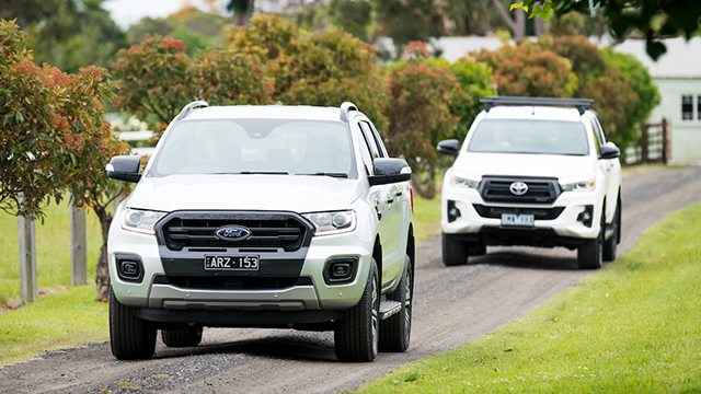 Toyota HiLux Rogue Vs Ford Ranger Wildtrak Mob