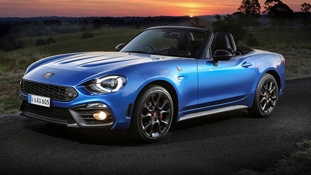 Abarth Blue Spider