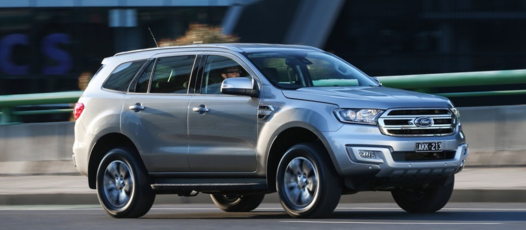 2017 Ford Everest Trend RWD