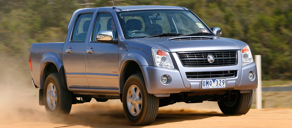 2007 Holden Rodeo LT | Ute | Car reviews | The NRMA
