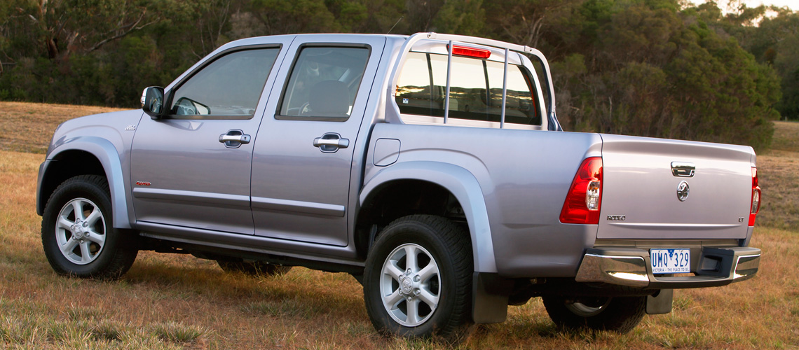 2007 Holden Rodeo Lt Ute Car Reviews The Nrma