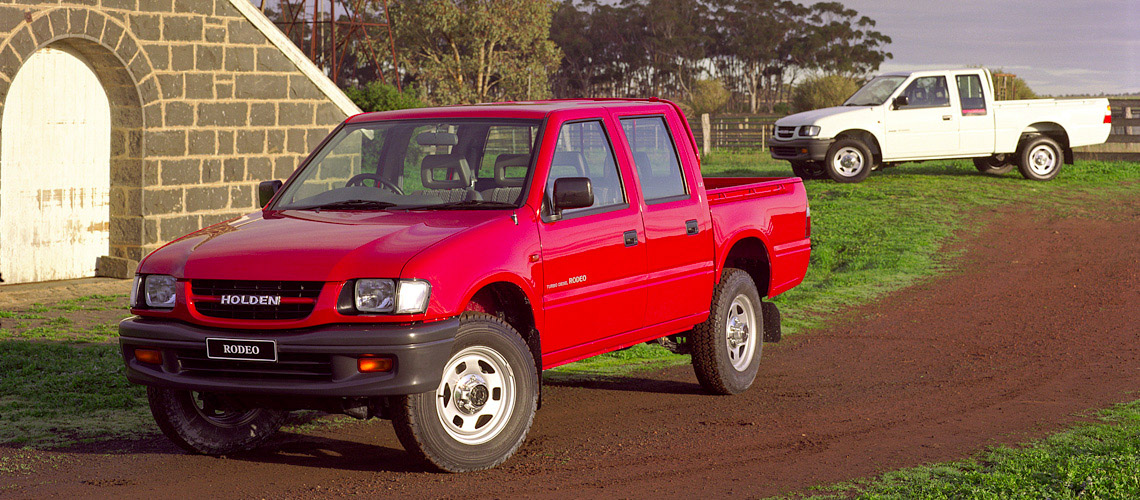 1998 Holden Rodeo LX