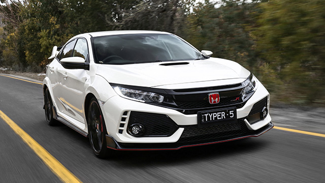 a look at the new honda civic type r car reviews the nrma. Black Bedroom Furniture Sets. Home Design Ideas