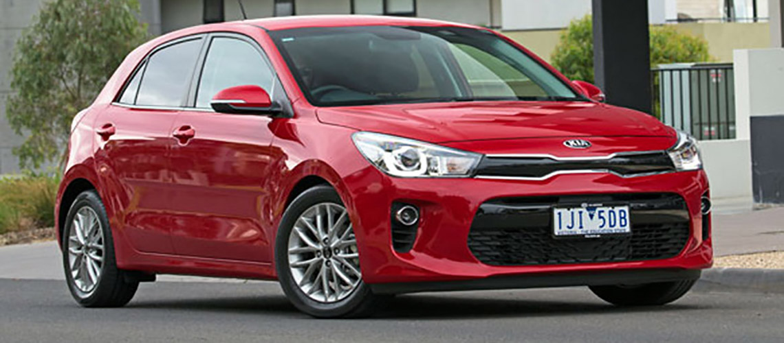 the korean car maker kicks off the year with the all new rio small car later this month the companys global best seller will feature new technologies and