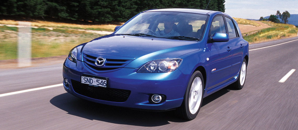 2004 Mazda3 SP23 Driving