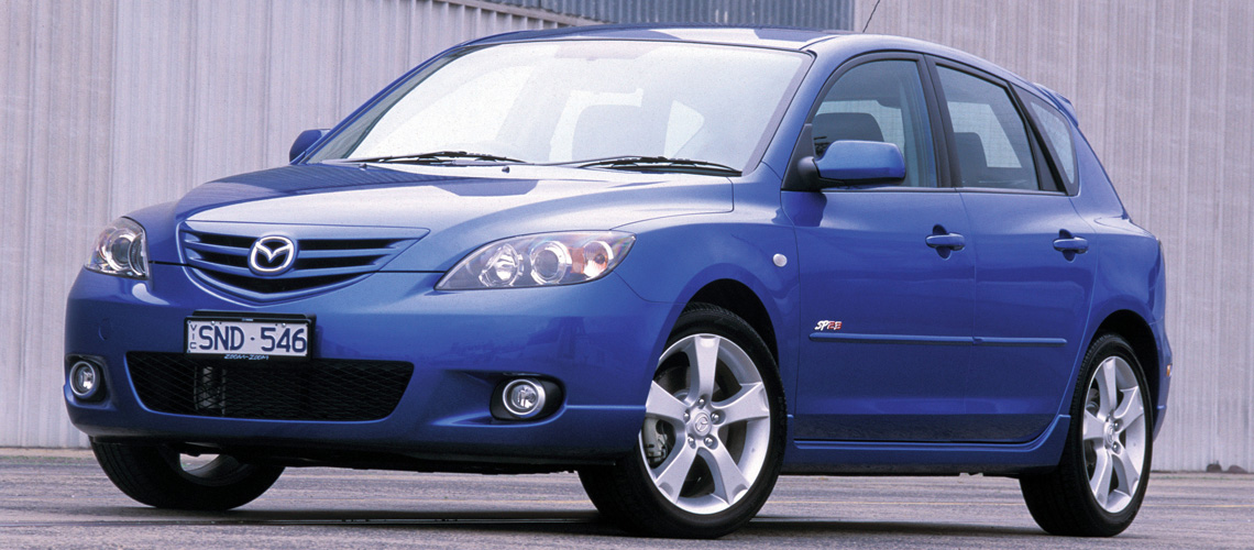 2004 Mazda3 SP23 hot hatch