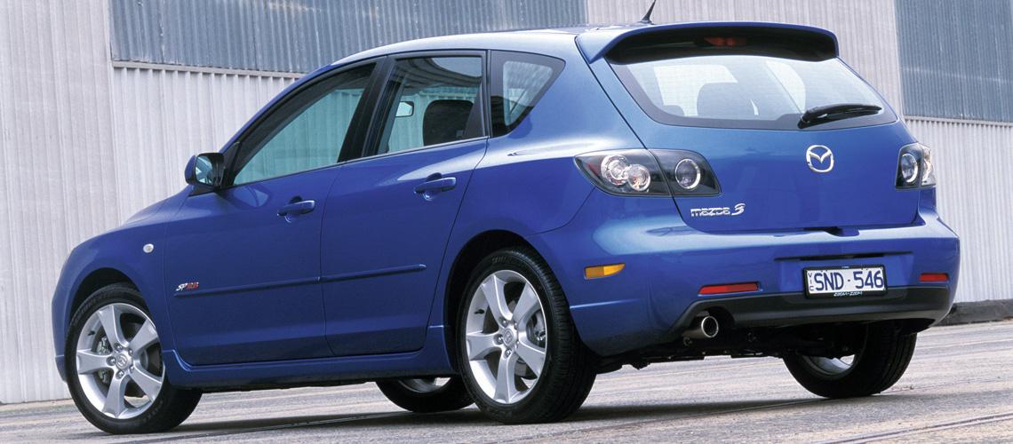 2004 Mazda3 SP23 Rear Exterior