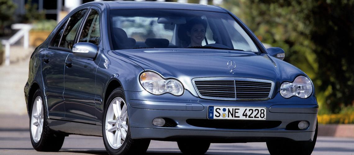 2002 Mercedes Benz C 200 Kompressor Sedan Luxury Car Car