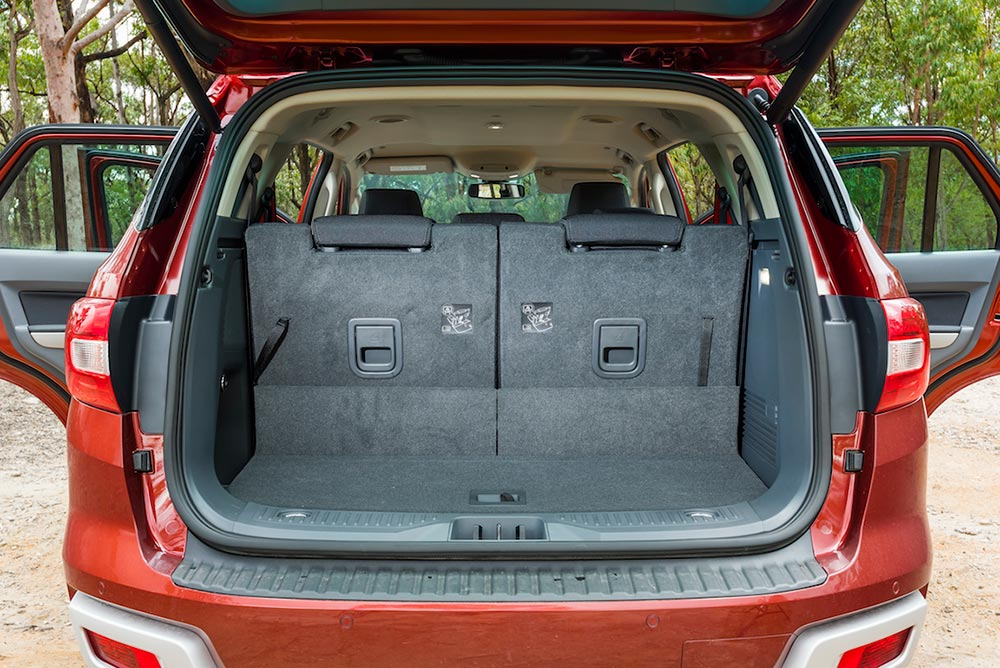 Ford Everest 4WD SUV Boot