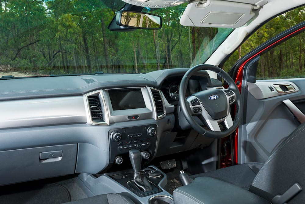 Ford Everest SUV 4WD Interior