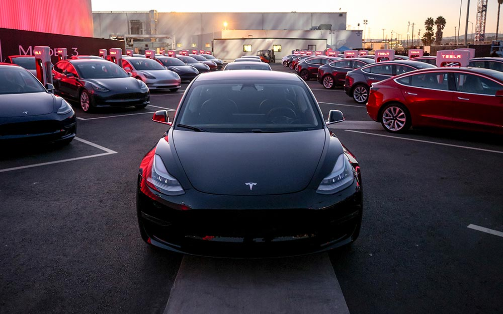 Model 3 First Deliveries