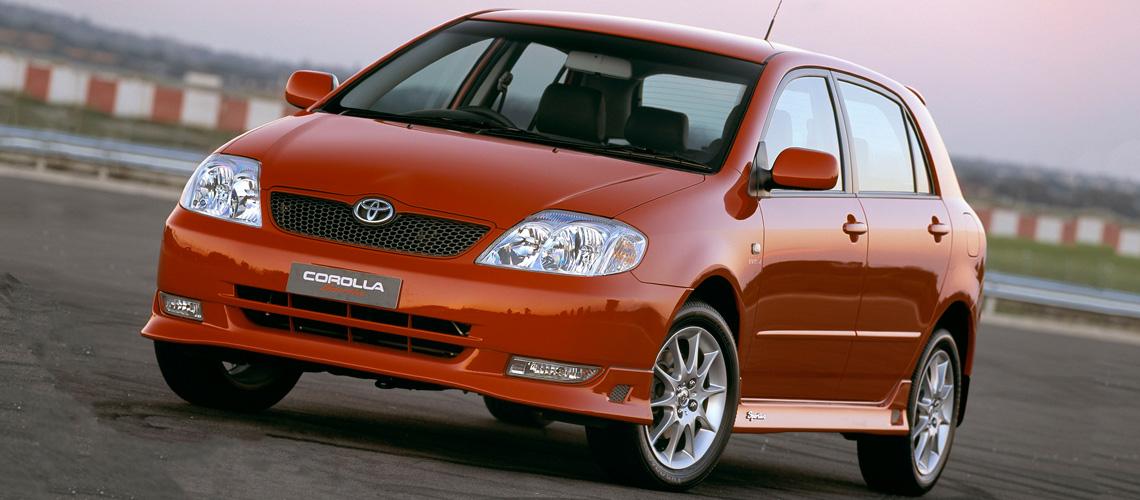Delightful 2003 Toyota Corolla Sportivo Small Car