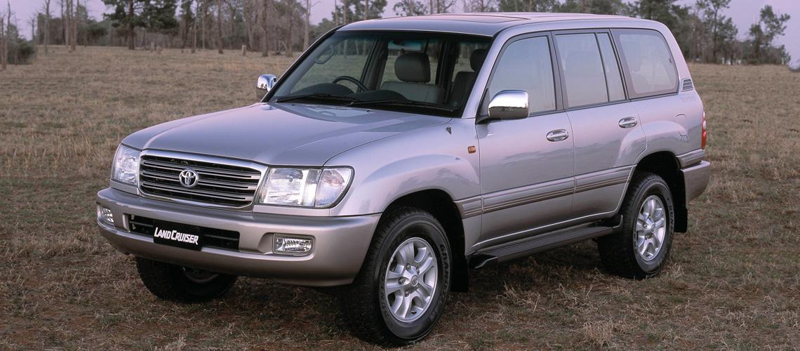 2003 toyota landcruiser 100 gxl series
