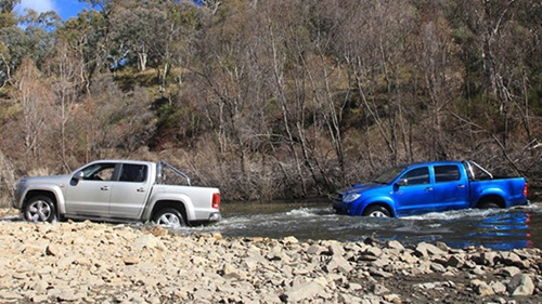 2011 Toyota HiLux ute takes on the VW Amarok