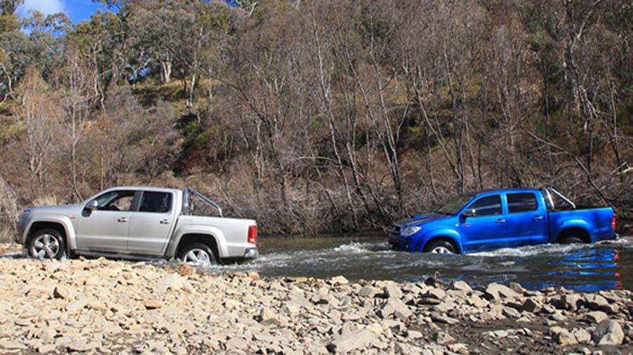 Toyota HiLux vs Volkswagen Amarok   Car reviews   The NRMA