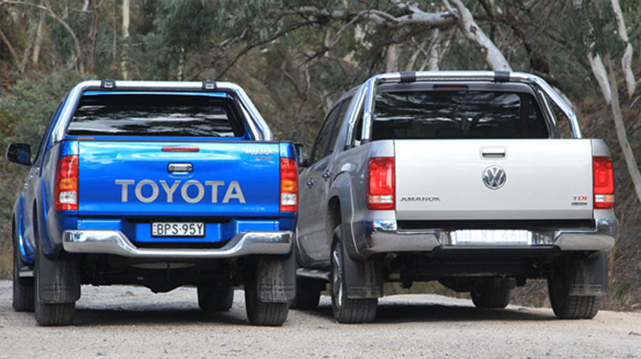 Toyota HiLux vs Volkswagen Amarok | Car reviews | The NRMA