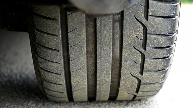 car tyre tread mobile