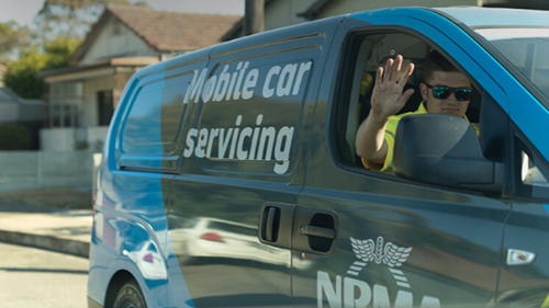 NRMA mobile mechanic car servicing