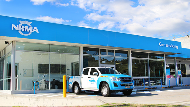 NRMA Car Servicing Narrabeen Workshop
