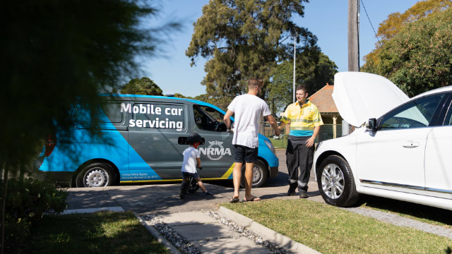 NRMA mobile car servicing