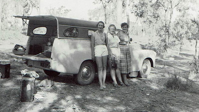 Sue's 1954 Riverina to Darwin adventure