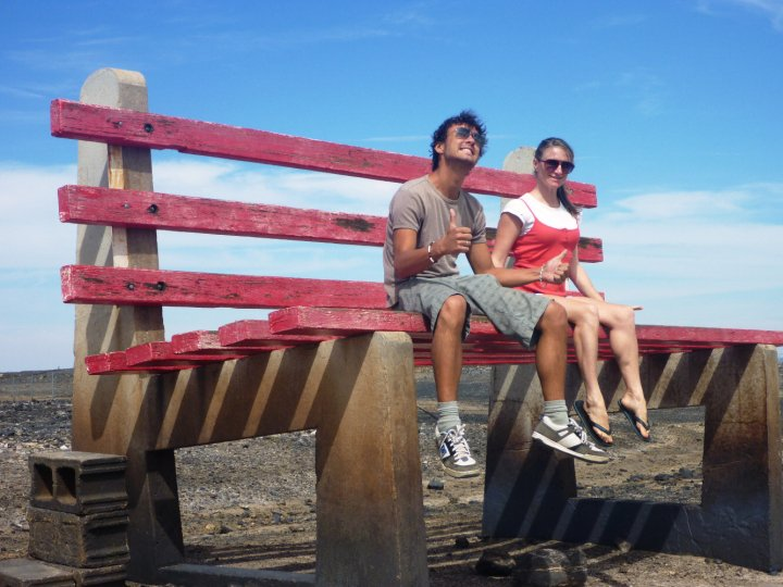 Michelle's road trip - Big Bench, Broken Hill