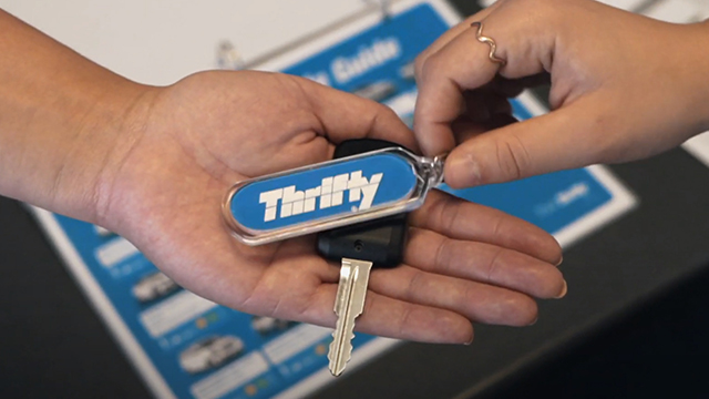 PLH Thrifty free car rental