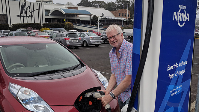 NRMA EV charger Southern Highlands, Mittagong