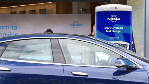 NRMA Blue Electric Vehicle Fast Charging Network Australia