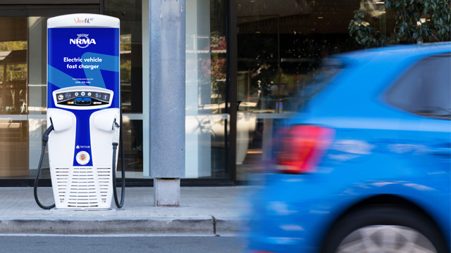 Free Electric Vehicle Fast Charger Network Map Australia NRMA Blue Member Benefits