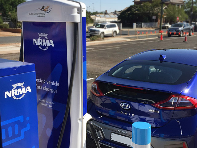 west wyalong electric vehicle charger