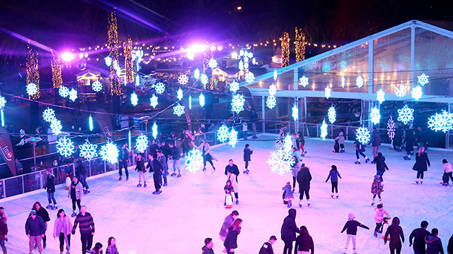 Ice Skating Parramatta Winterlight