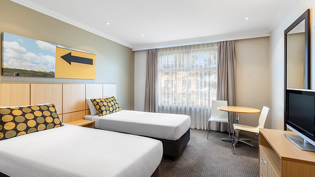 Guest Room Twin Travelodge Blacktown NSW
