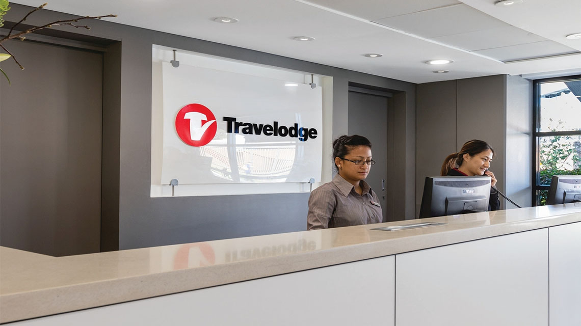 Reception Travelodge Macquarie North Ryde NSW