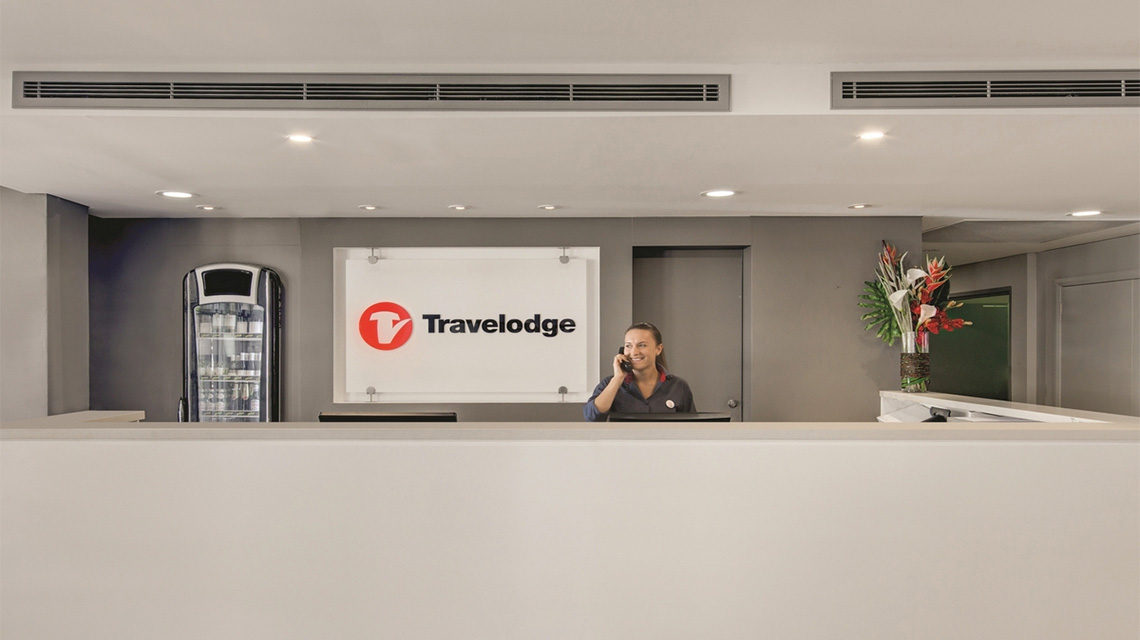 Reception Travelodge Manly NSW