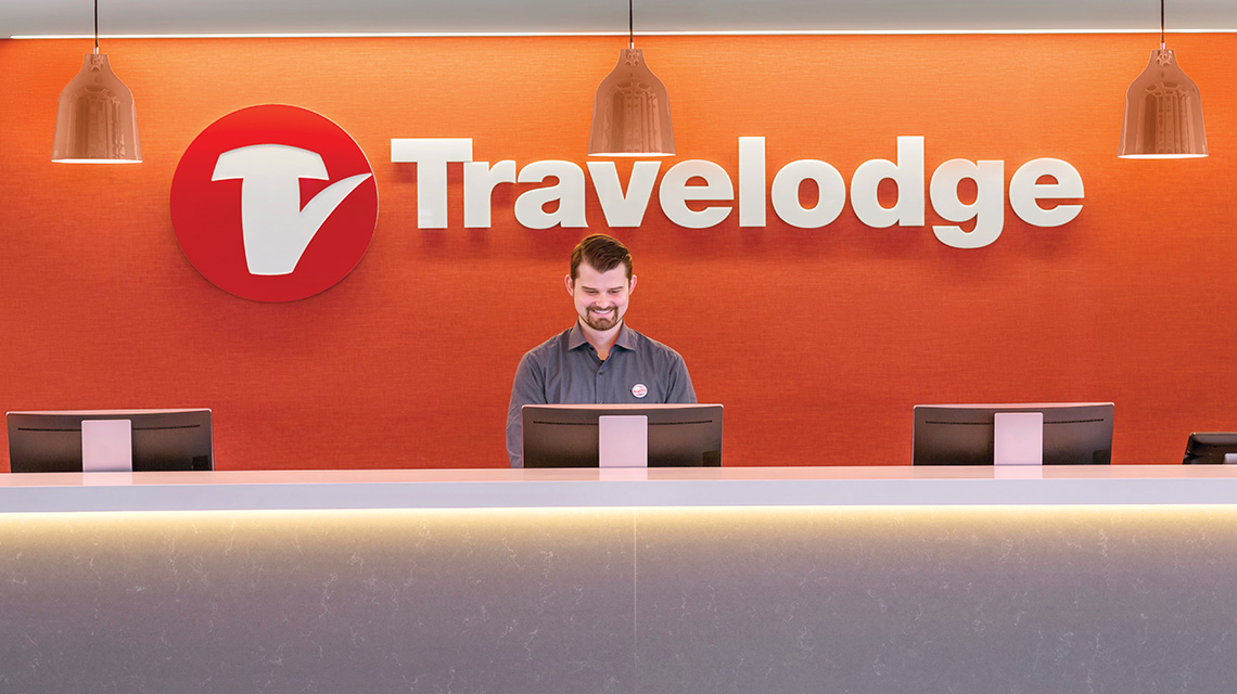 Reception Travelodge Sydney Airport NSW