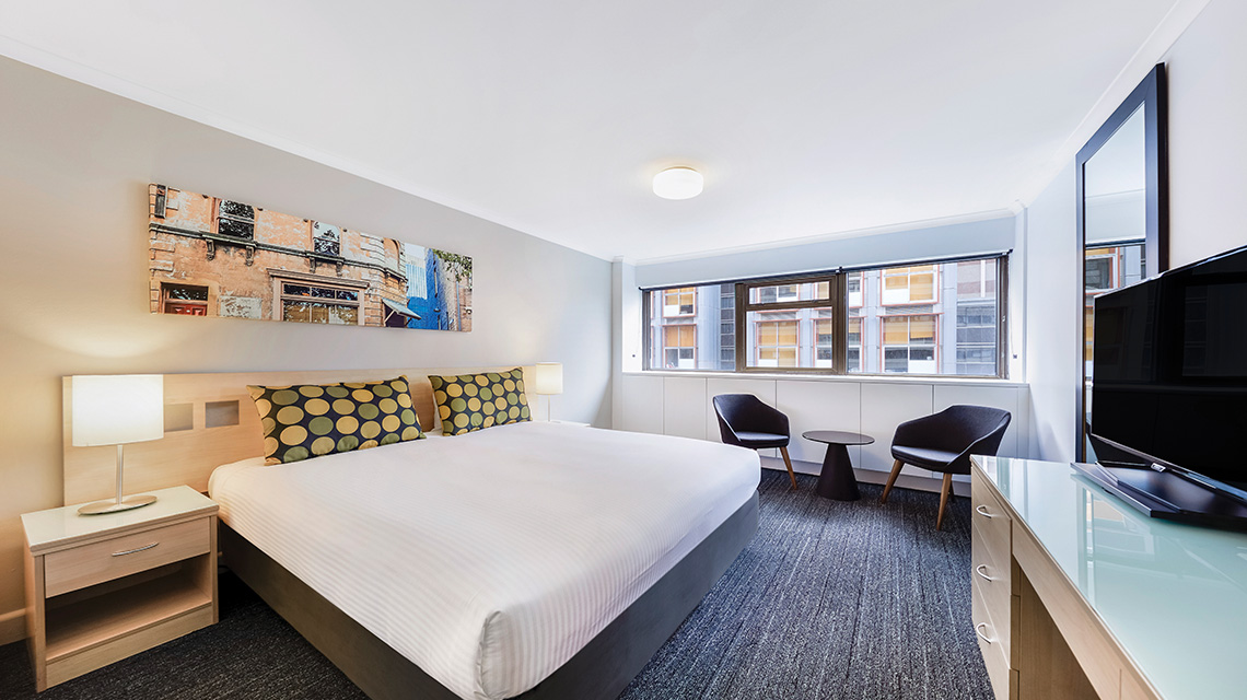 Executive Room King Travelodge Wynyard NSW