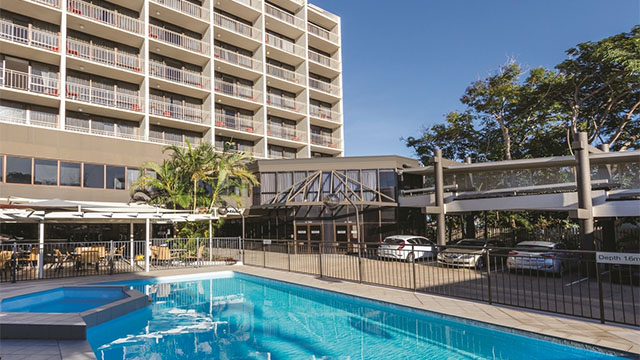 Pool Travelodge Rockhampton QLD