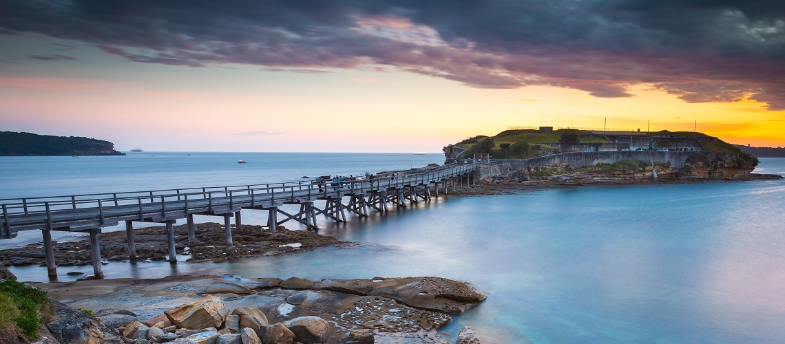 Seascape in La perouse