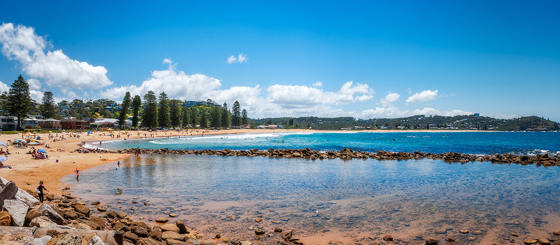 Avoca Beach Central NSW my nrma local guides