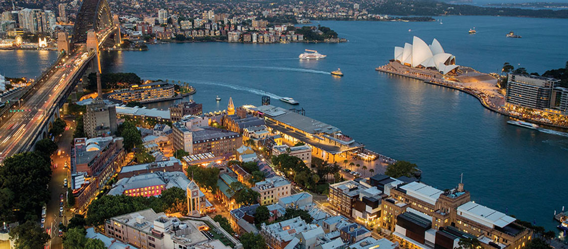 Aerial View Sydney my nrma local guides