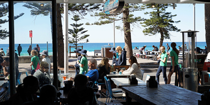 Bluewater Cafe Manly