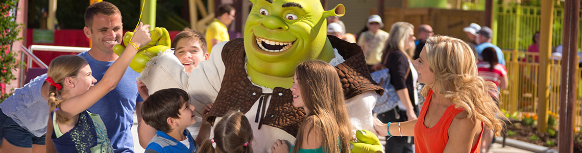 Shrek Movie World