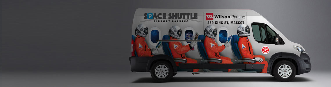 Space Shuttle Sydney Airport Parking Travelodge NRMA Blue Member Discount