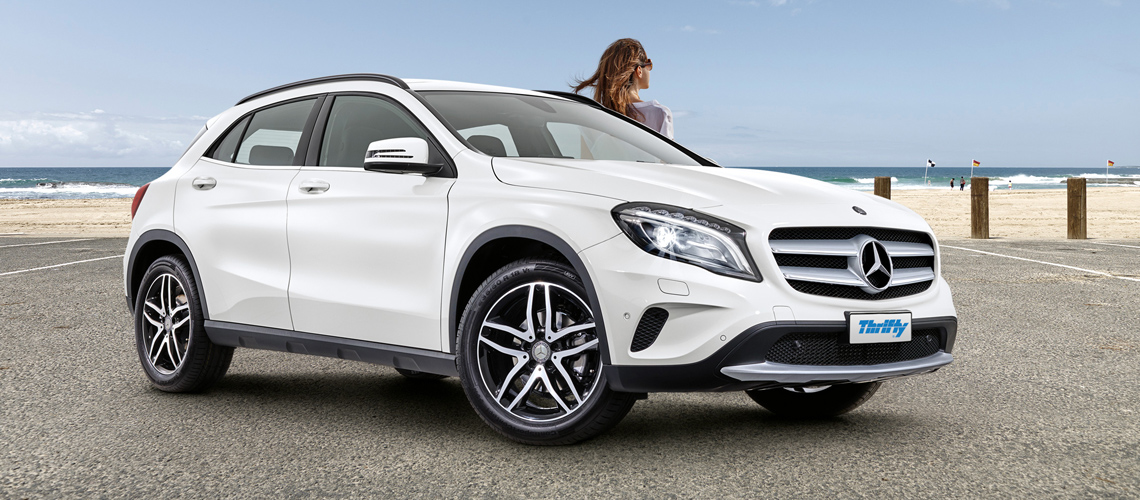 Thrifty rent and win a Mercedes-Benz GLA 180 Member benefits The NRMA